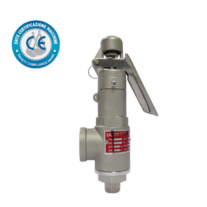 CE approved high pressure safety reliefe valve