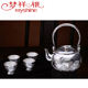 Whole Handmade tea cup sets sterling silver antique china silver teapot