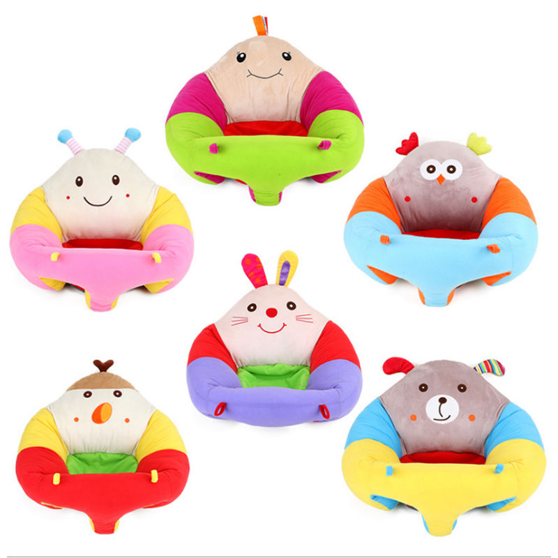 Cotton Soft Baby Support Sit Chair Seat Plush Toys for Infant Baby