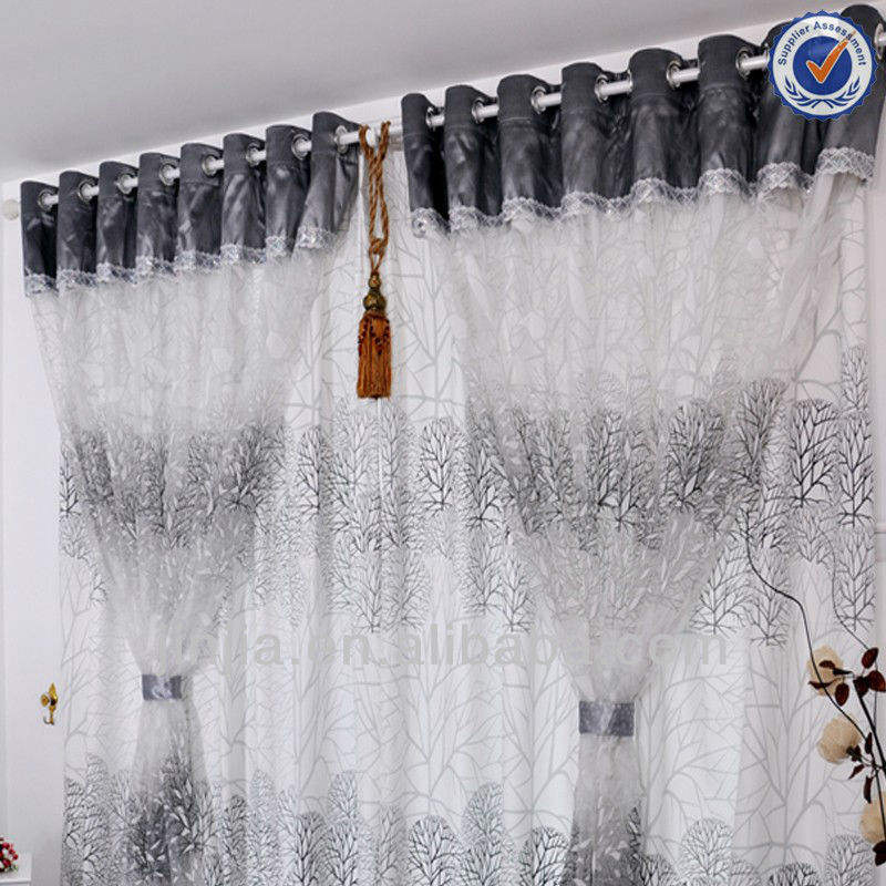 Professional curtain factory low price American Style Luxury fabric door panels curtains
