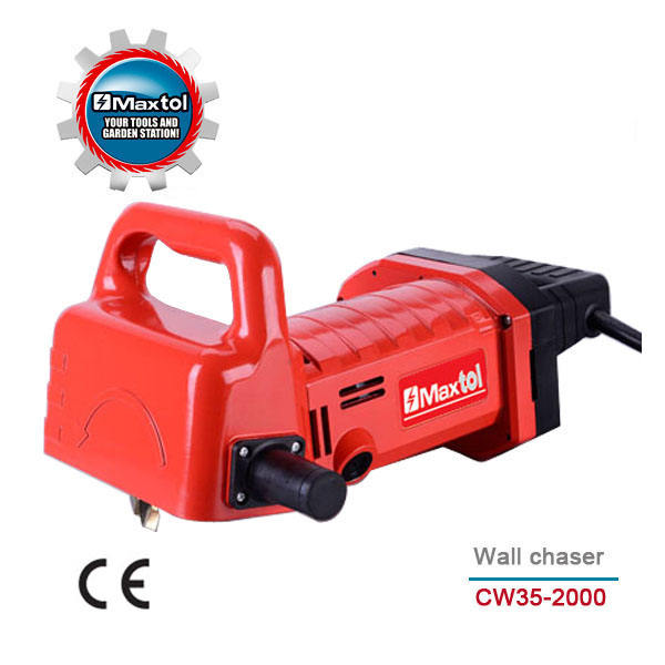 CW35-2000 2000W 35x35m Professional industry wall chaser grooving/slotting machine(chisel free)