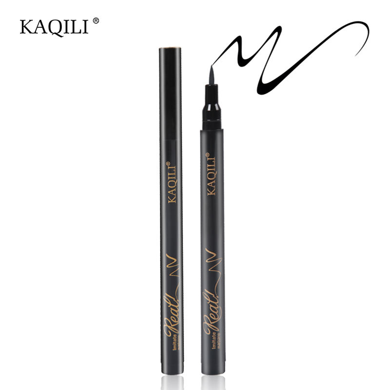 One-Stop Service [ Cosmetic ] Private Label Waterproof Eyeliner Best Waterproof Wholesale Private Label Liquid Cosmetic Eyeliner Pen