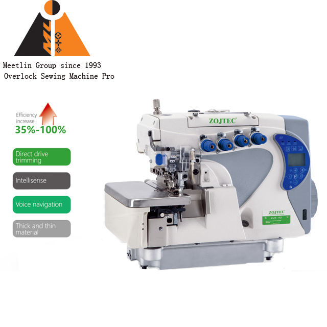 ZJ-F5-3D Direct drive 1 needle 3 thread overlock machine
