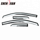 Window sun visor pmma new material high quality for D-MAX