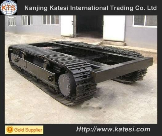 Rubber track system undercarriage/rubber track chassis for harvester machines /dumpers /drill rigs