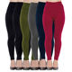 China factory wholesale fancy winter seamless fleece women leggings