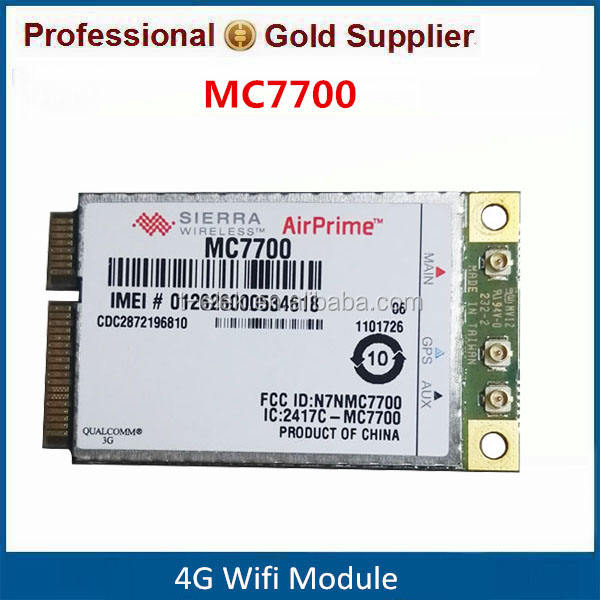 Sierra Wireless MC7700 4G LTE Module with Qualcomm MDM9200 Chipset