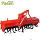 Tractor mounted wide L type blade used rotary tiller for sale / rotary tiller gearbox with 3-point mounted