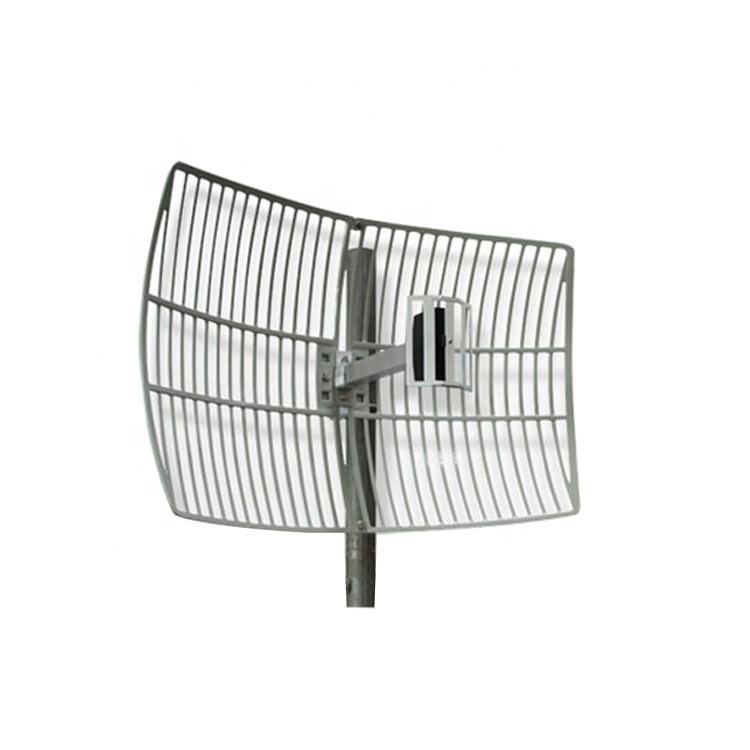 Manufacturer Supplier Outdoor 2.4G Directional Grid Parabolic Antenna for Wifi Point to Point System