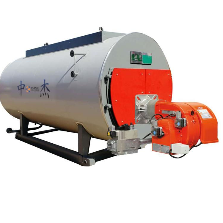 WNS2 ton boiler gas oil burner for hotel heating with ISO9001 ISO14001 ASME