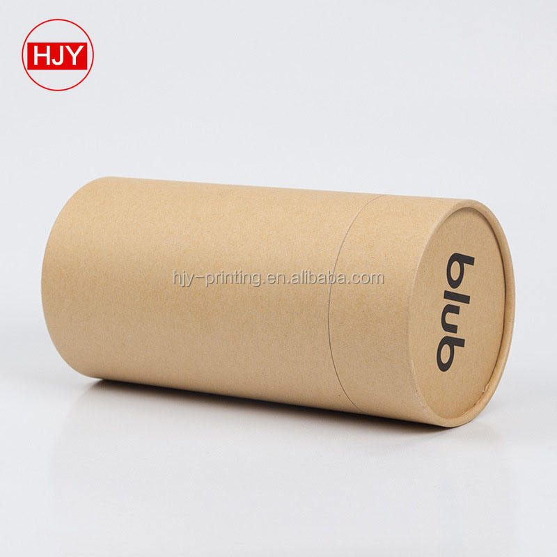 Custom made paper tube high grade carton, food kraft paper packaging jar, tea packing box printing