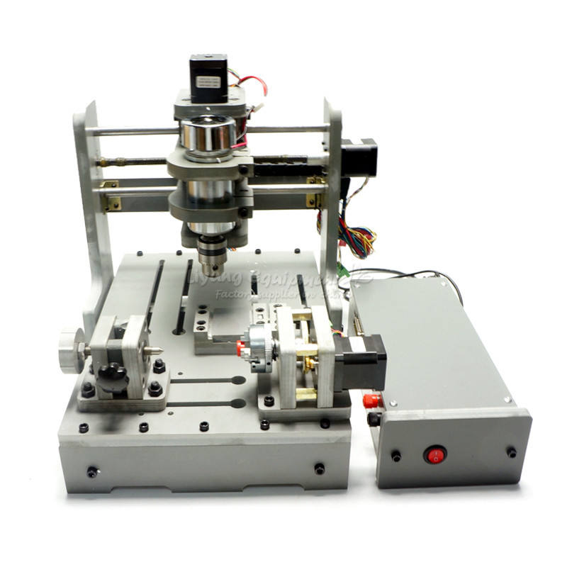 mini CNC machine 4 axis wood router 3020