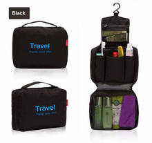 High quality multifunction waterproof hanging Toiletry travel organizer Cosmetic bag