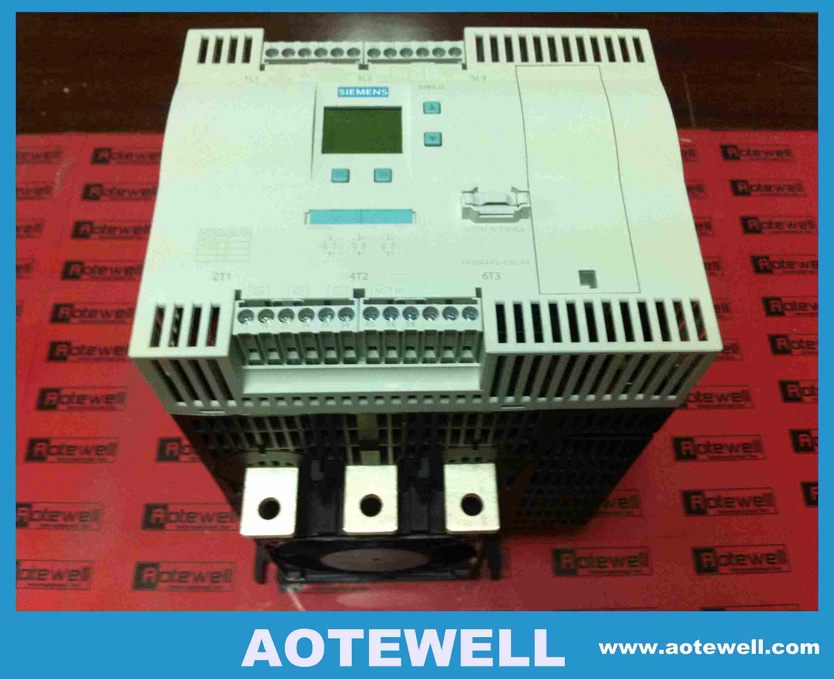 1-Year Warranty ! New In Box Siemens Soft Starter 3RW4443-6BC44