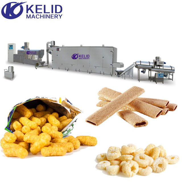 nieuwe business project maïs chips extruder