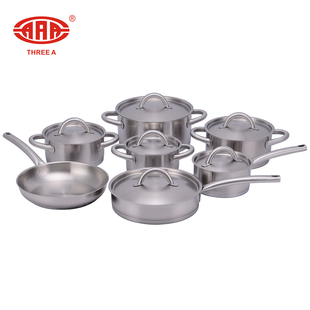 AAA surgical steel prestige 10 pcs dessini cookware set