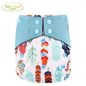 Top Quality all in one washable aio baby cloth nappies diaper organic manufacturers