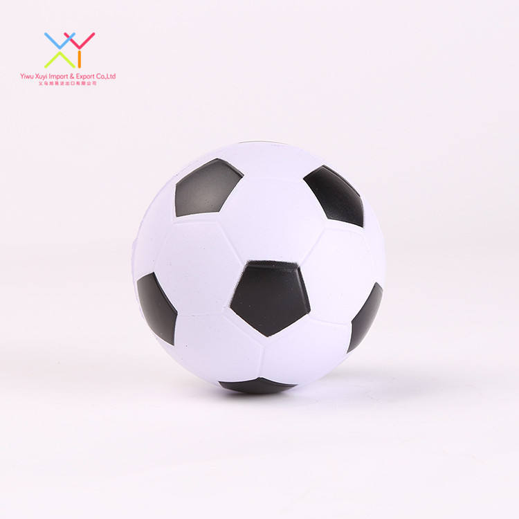High quality children stress relief toy ball PU foam soccer football stress balls cheap stress ball