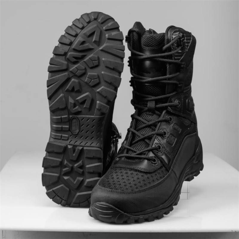 Anti-shock Anti Slip Military Combat US army boots Men Breathable Tactical SWAT Boots Outdoor Safety Work other police shoes