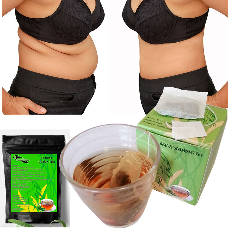 Natural 14 Day Nature Green Tea Quick Slim Beauty Fit Diet Tea Slimming Detox Herbal Tea No Side Effect