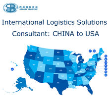 FCL LCL Consolidation Consolidator Shipping from China to US USA the United States