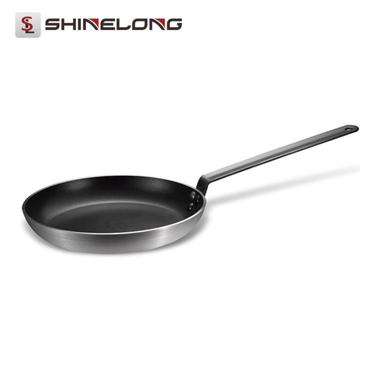 S495 European Style Aluminium Alloy Non-Stick Round Frying Pan