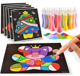 Educational Toy Kids DIY Hand Drawing Magic Sand Painting Picture Kits