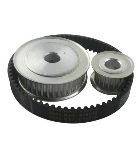 5M Reduction Timing Belt Pulley Set 20T:60T 1:3/3:1 Ratio 80mm Center Distance Toothed Pulley Kit Shaft 5M-375 Gear Pulley