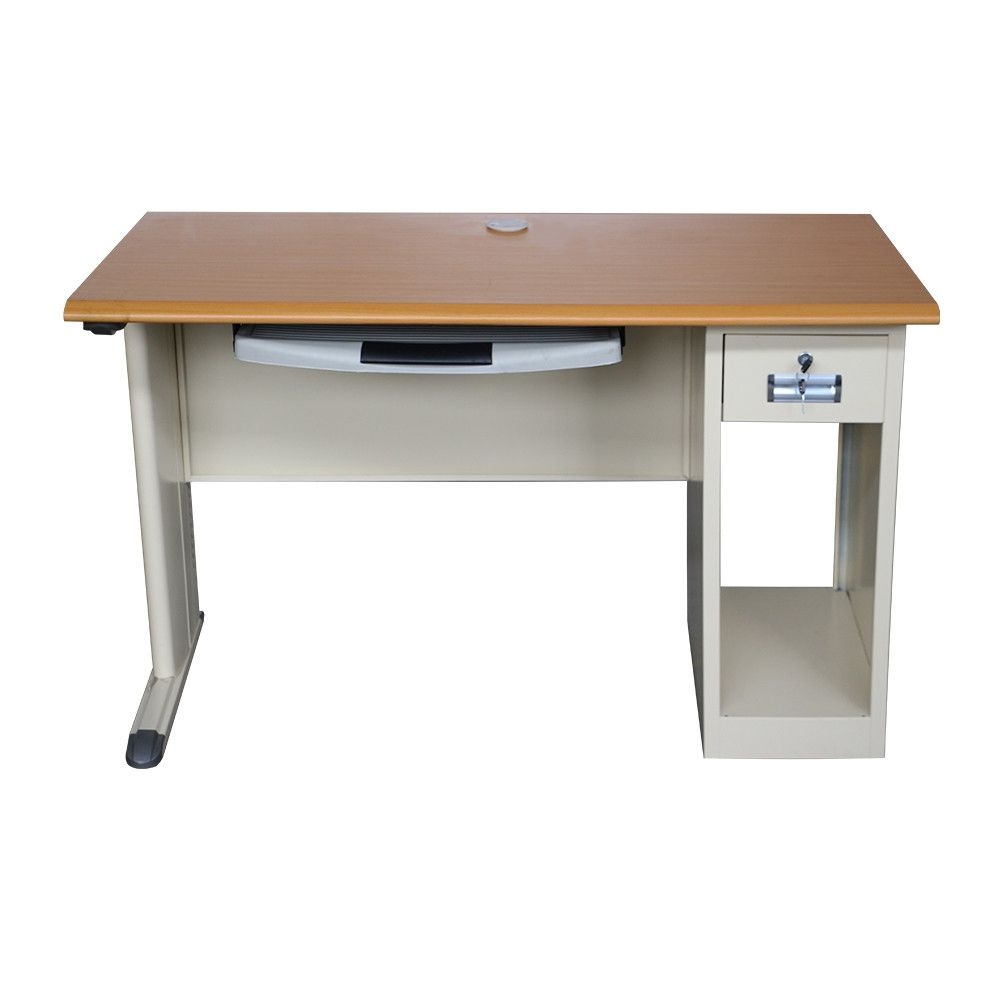 BAS-048 Office Home Furniture Desk Metal Computer Study Table Design