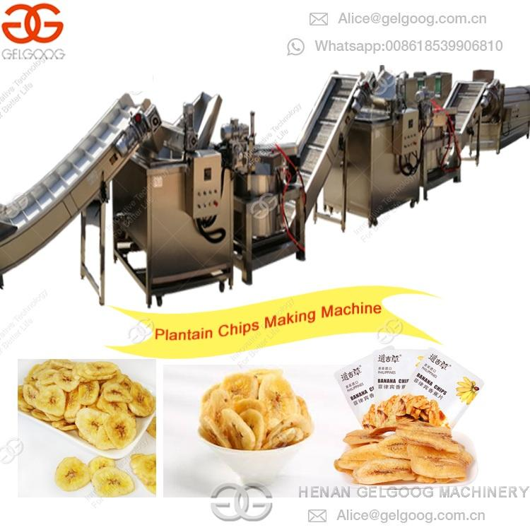 Professional Production line Plantain Chips Making Machine