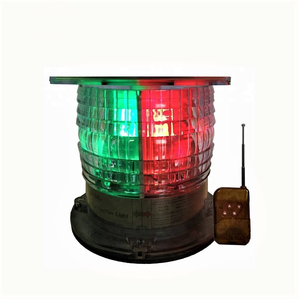 Doublewise COLREGS Solar LED Ship Anchor Navigation Signal All-Round light