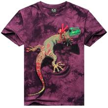 Lizard 3D Animal tshirts Men t shirt Casual t-shirt Funny Tee Summer Short Sleeve Top