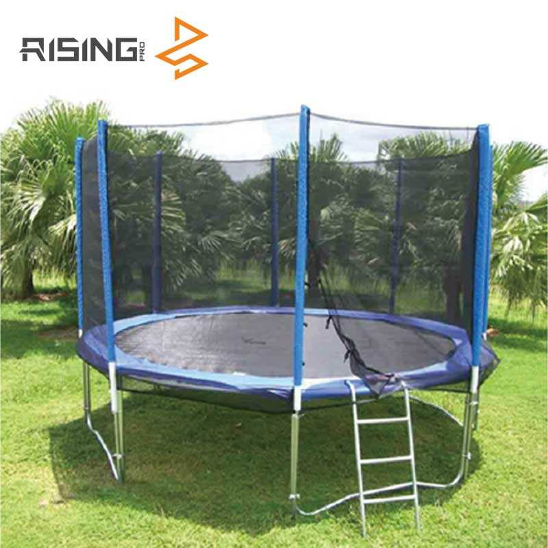 Outdoor Kids Jumping Sport Bed Trampoline With Safety Net/Ladder