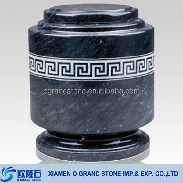 wholesale cremation marble funeral headstone urns for ashes