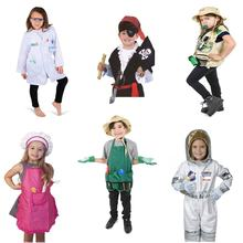 Factory direct sale kids dress up costumes,kids cosplay costume,carnival toy
