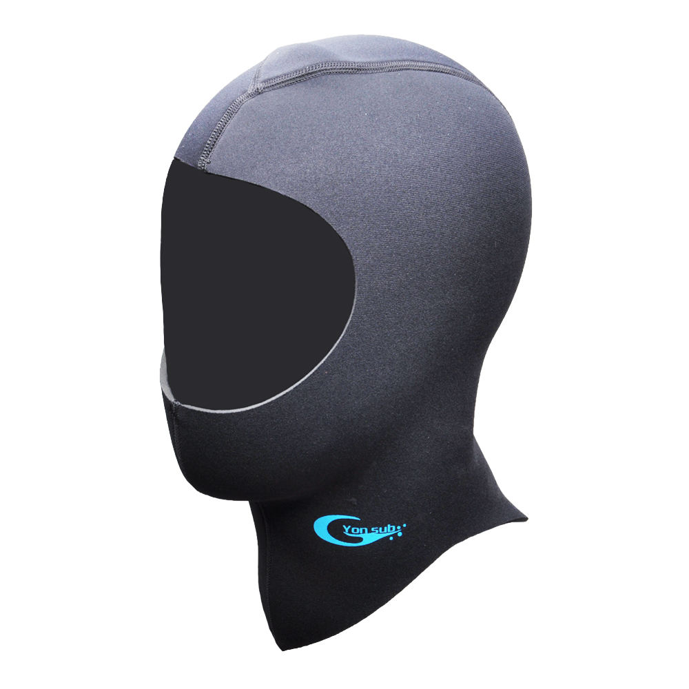 Custom 5mm printed neoprene diving hood