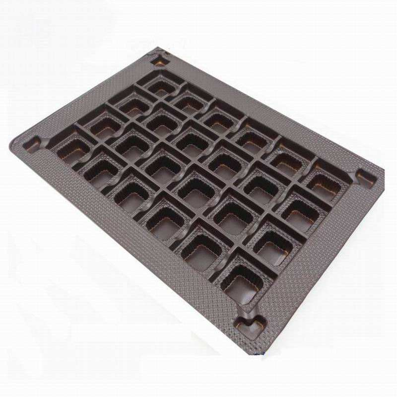 PET Candy Blister Insert Tray Packaging with Customized Shape Design