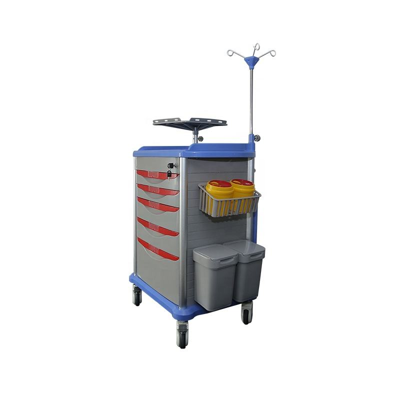 Hospital Trolleys Made Of ABS Or Pp Can Perform A Variety Of Functions To Provide High-quality Low-cost Treatment For Patients