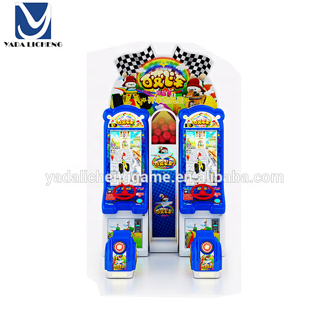 Game center simulator arcade coin operated children car racing game machine