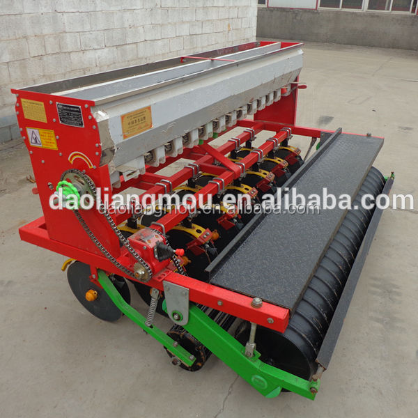New agricultural machines Chinese seeder wheat beans disc planter with fertilizer