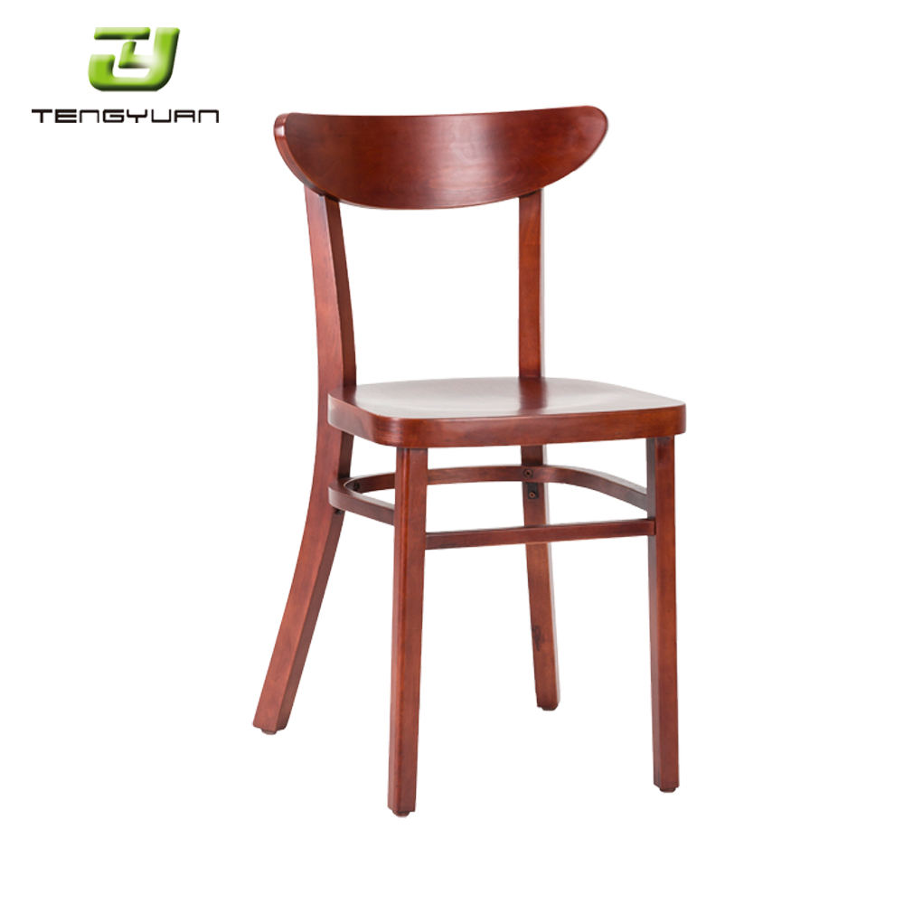 Chinese Manufacturers Stable Design Home Furniture Wood Restaurant Ash wood Chair
