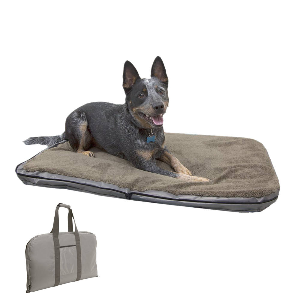 Luxury Waterproof Pet Bed Portable Sofa Bed Travel Dog Car Mat Outdoor Multi-Use Storage Bag with Handle , High End Pet Products