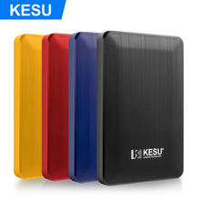 "KESU 2518 2.5"" Portable External Hard Drive USB 3.0 80GB 120GB 160GB 250GB 320GB 500GB 2TB 1TB External Hard Disk HDD for PC/Mac"