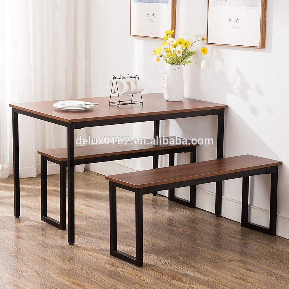 Free Sample Modern Dining Table With Bench Compact Dining Set Use For Small Kitchen Room Buy Dining Table With Bench Modern Dining Table Dining Bench Product On Alibaba Com