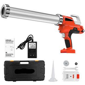 20V Electric Caulking Gun Holds 10 Ounce-20 Ounce/300ml-600ml with 2pcs 20v Lithium Electric Caulk Gun