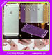 JESOY Bling Full Body Vinyl Glitter Decal Wrap Sticker Cover for iPhone 6 7 Skin