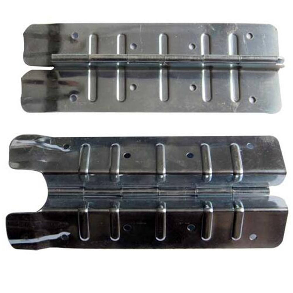 Wood steel pallet collar frame hinges