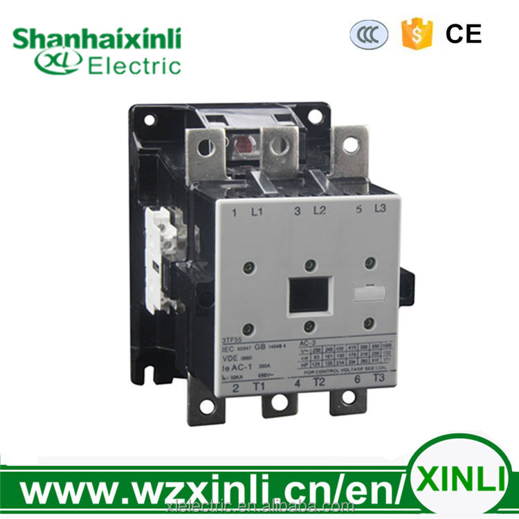 XINLI CJX1 3tf55 300a siemens electrical magnetic types of ac Contactor