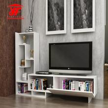 Best White Furniture Wooden TV Stand Wall Units Designs