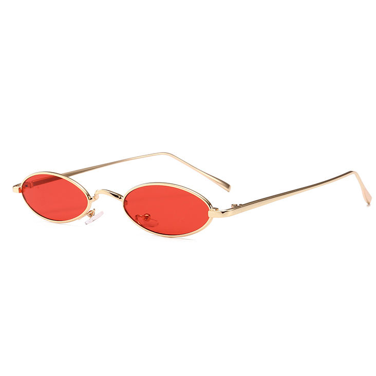 20433 Superhot Eyewear 2018 Retro Vintage Glasses Small Oval Metal Sunglasses